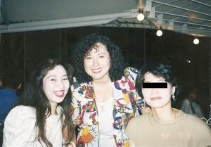 天野ベラと高校時代の親友