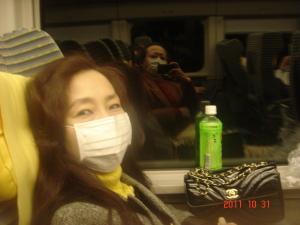 長野新幹線車中