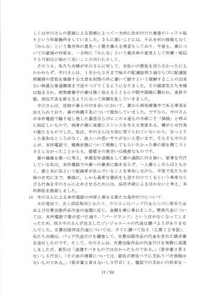 陳述書甲33・11頁目
