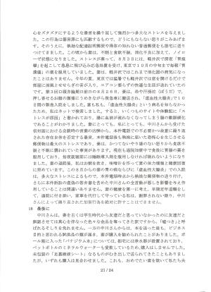 陳述書甲33・21頁目